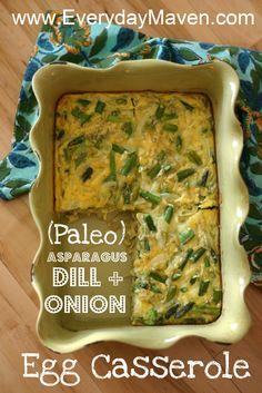Paleo Egg Casserole Recipe Makes 4 servings. 6 WW pp per serving.