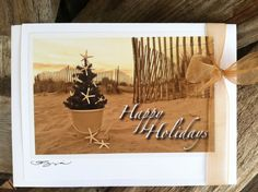 Happy Holidays Card Set by The Coastal Collection
