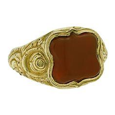 signet ring - Victorian