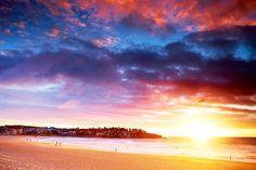 beaches, sunrises, beauti place, australia, aquabump