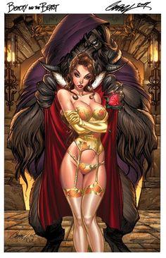 Fantasy Beauty and the Beast