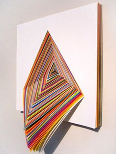 Triangle by Jen Stark