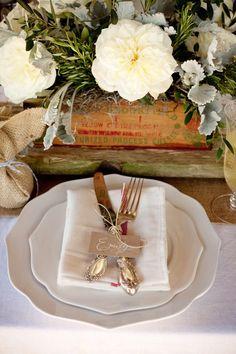 Rustic Romantic Wedding Shoot - Camille Styles, Inc.
