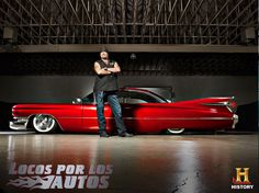 Danny Koker from Counting Cars and his Cadillac Fleetwood ´59. I wish to have one that good looking one day.