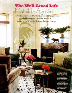 BELLE VIVIR: Interior Design Blog | Lifestyle | Home Decor: Mathilde Agostinelli at Home