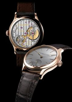 Laurent Ferrier Galet Micro-Rotor  Angus Davies thinks of ballet as he admires this incredibly beautiful timepiece from Laurent Ferrier. Read his watch review of theGalet Micro-Rotor on ESCAPEMENT.  http://www.escapement.uk.com/articles/laurent-ferrier-galet-micro-rotor.html