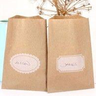 brown kraft, advent, label design, boxes, kraft bag, 10 brown, brown packag, bags, white label