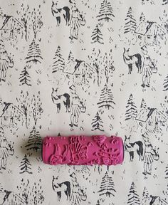 Patterned Paint Roller No.23