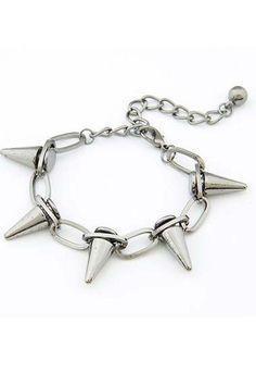 Fashion Simple Punk Bracelet #streetstyle
