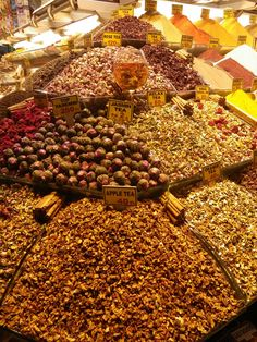 teas @ spice market, Istanbul
