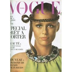 October 1968: Lauren Huttons first cover for Vogue Paris