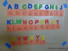 teach your preschooler uppercase and lowercase identification