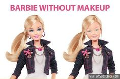 Barbie doll without makeup - FunSubstance.com on imgfave