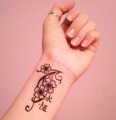 Henna design?