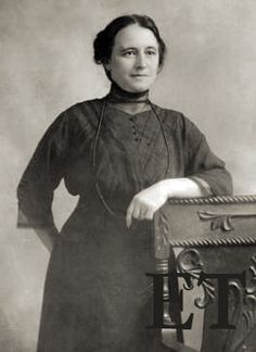 Rhoda Abbott, b. 1873. Titanic survivor who lost her two young sons on the ship. From Encyclopedia Titanica.