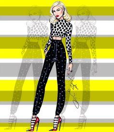 Gwen Stefani by Hayden Williams