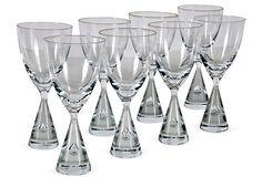 1960s Holmegaard Wine Glasses, Set of 8 $399.00