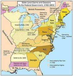 13 coloni, coloni map