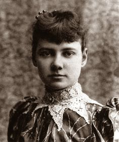Elizabeth Cochrane/Nellie Bly (1864-1922) An American journalist and industrialist.  A founding member of investigative journalism, Elizabeth's account of her stay in an asylum, after faking insanity, was so horrifying it led to vastly improved funding and conditions for the mentally ill. For another column, Elizabeth broke records by travelling around the world in 72 days. Later, Elizabeth became president of a manufacturing company and, a leading female industrialist and inventor.