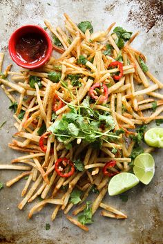 Lebanese Spiced French Fries by Heather Christo, via Flickr
