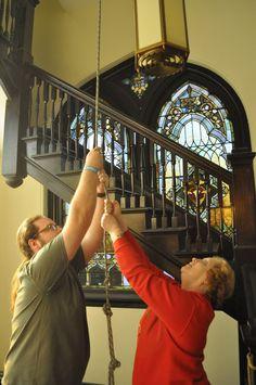 Ringing the church bells