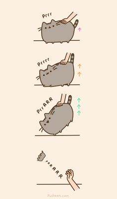 Pusheen the cat .. lol