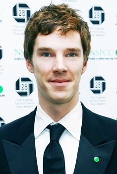 Basically Gavin's hair looks like this. And I love looking at Benedict so it's two for one!