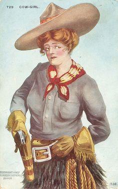 Cowgirl Illustration