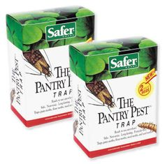 SAFER® BRAND THE PANTRY PEST TRAP, 4 traps - $15.51 - Protect your pantry! These traps control moths and their larvae brought into your home in flour, grains, & bird seed! #organic #pestcontrol #insects #bugs #home #kitchen