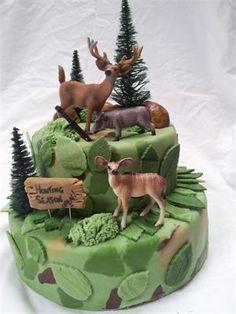 Hunting Cake.
