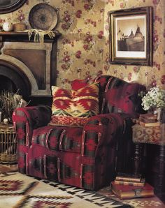 "Ralph Lauren Home Archives, ""Southwest"" collection, Chair detail, 1989."