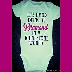 Girl Onsies Funny Onesie Toddler Girl Shirt by LivAndCompanyShop