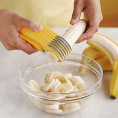 product, chefn, idea, stuff, kitchen gadget, food, bananas, banana slicer, thing