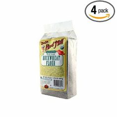 bob's red mill buckwheat flour (gluten free 13.76 for a 4 pack of 22 oz bags)