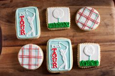 Daily Dose of Sweet  Golf Theme Cookies