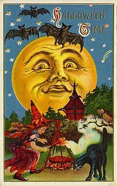 vintage halloween cards - Bing Images