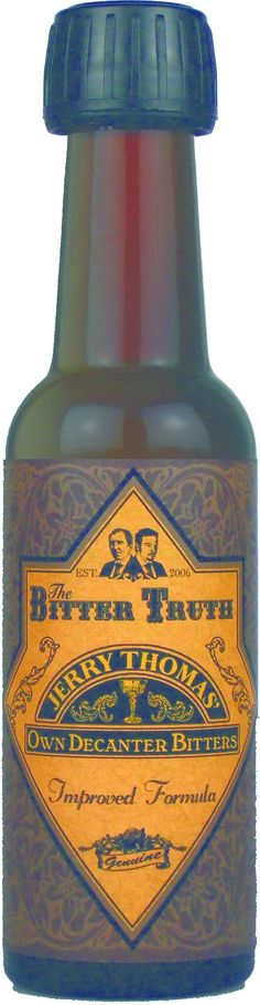 Truth Jerry Thomas Own Decanter Bitters Recipes on Pinterest