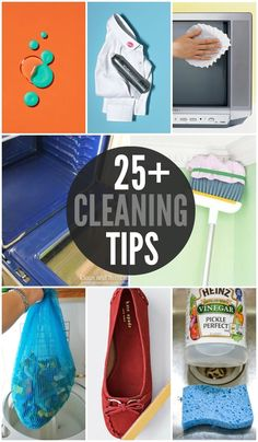 25+ MUST-SEE Cleaning Tips for around the house! { lilluna.com }