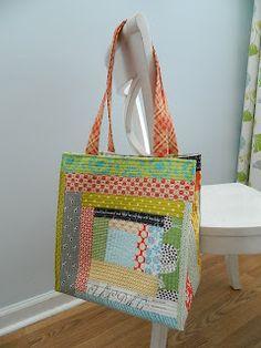 awesome qayg tote bag.  s.o.t.a.k handmade: traveling handmade