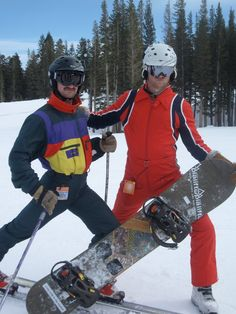 80's Ski Gear: What you need to look Rad. Tight Pants!