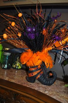 RAZ Halloween Center Piece