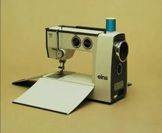 The Elna Lotus was launched in 1968, a compact sewing machine with a unique design. Today you can find the Elna Lotus in the Design Collection of New York's Museum of Modern Art (MOMA).