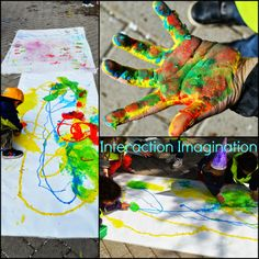 """Outdoor action art from Interaction Imagination ("""",)"""