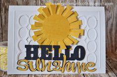 RANDOM RAMBLINGS: SENDING SUNSHINE : a card
