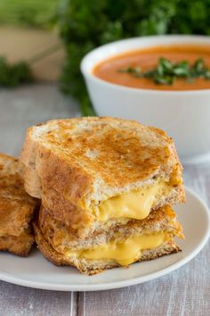 Grilled Cheese Sandwiches--Vegan Style!