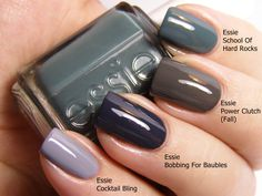 Essie Fall/Winter colors.  Want them all!