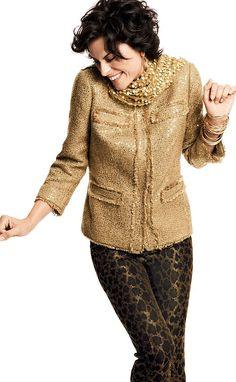 The Statement Jacket – these sequins speak volumes #chicos