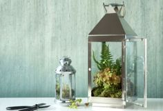 I'm into terrariums of late.  Love this.