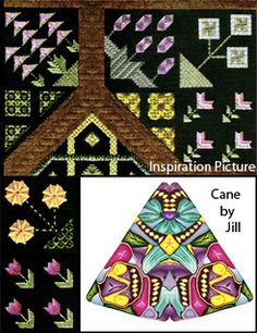 Student's Color Inspiration Picture with Cane (Jill) by It's all about color, via Flickr
