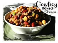 Cowboy Baked Beans on MyRecipeMagic.com #baked #beans #cowboy...maybe some jalepenos too!! mmmmm